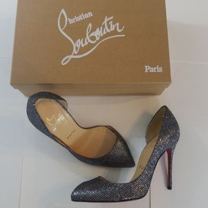 Christian Louboutin Limited Edition Silver Heels